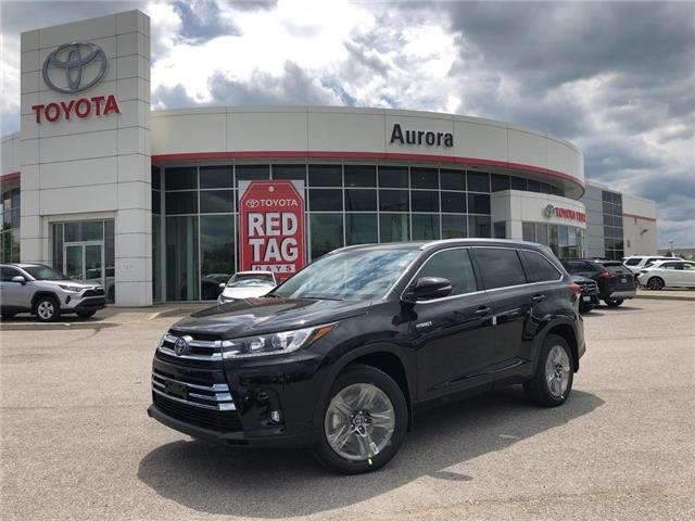 2019 Toyota Highlander Hybrid Limited (Stk: 31009) in Aurora - Image 1 of 15