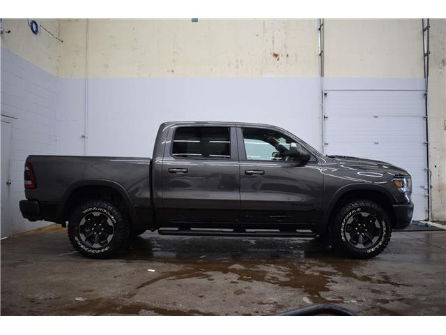 2019 RAM 1500 REBEL CREW 4X4 - HTD SEATS & WHEEL * NAV * LTHR (Stk: DP4095) in Kingston - Image 1 of 30