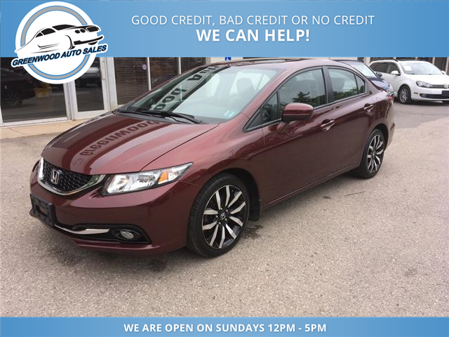 2014 Honda Civic Touring (Stk: 14-00090) in Greenwood - Image 2 of 19