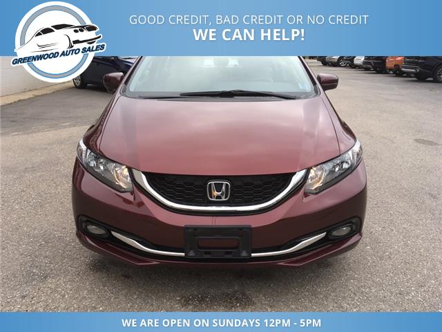2014 Honda Civic Touring (Stk: 14-00090) in Greenwood - Image 4 of 19