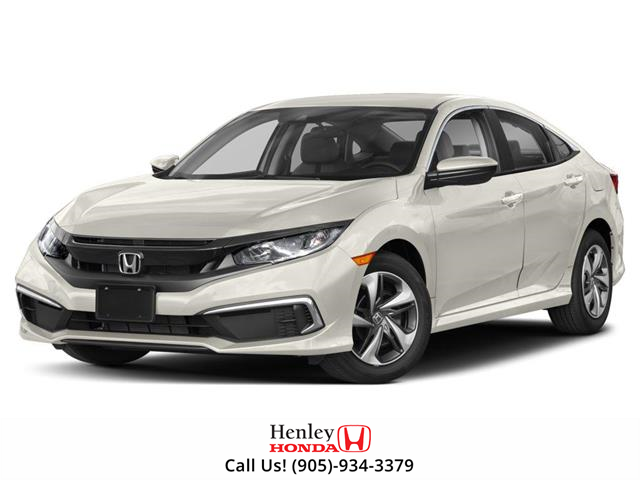 2019 Honda Civic LX (Stk: H18160) in St. Catharines - Image 1 of 9