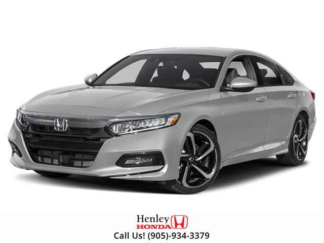 2019 Honda Accord Sport 1.5T (Stk: H18195) in St. Catharines - Image 1 of 9