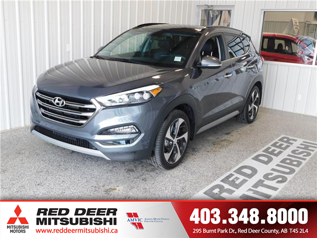 2017 Hyundai Tucson Limited (Stk: P8377A) in Red Deer County - Image 1 of 17