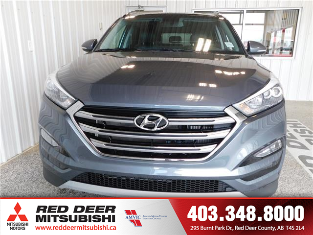2017 Hyundai Tucson Limited (Stk: P8377A) in Red Deer County - Image 2 of 17