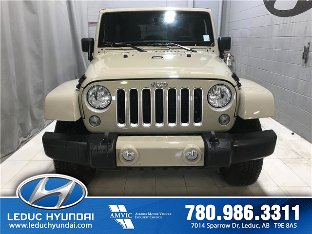 2017 Jeep Wrangler Unlimited Sahara (Stk: PS0152) in Leduc - Image 1 of 8