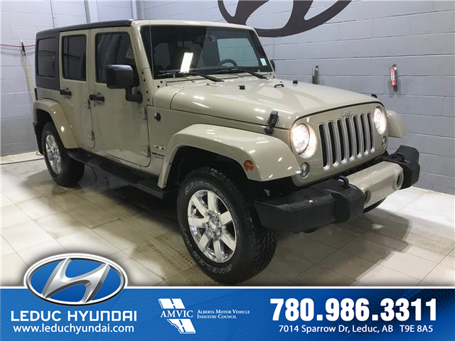 2017 Jeep Wrangler Unlimited Sahara (Stk: PS0152) in Leduc - Image 2 of 8