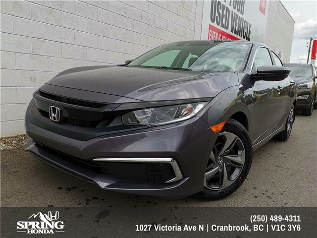 2019 Honda Civic LX (Stk: H27107) in North Cranbrook - Image 1 of 10