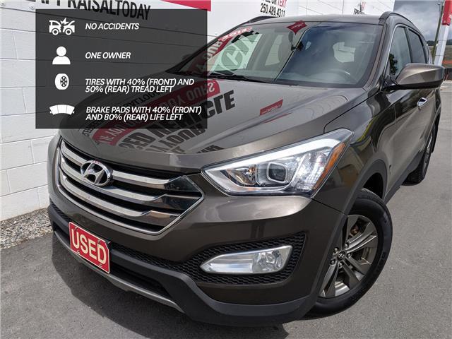 2013 Hyundai Santa Fe Sport 2.4 Premium (Stk: H02364A) in North Cranbrook - Image 1 of 15