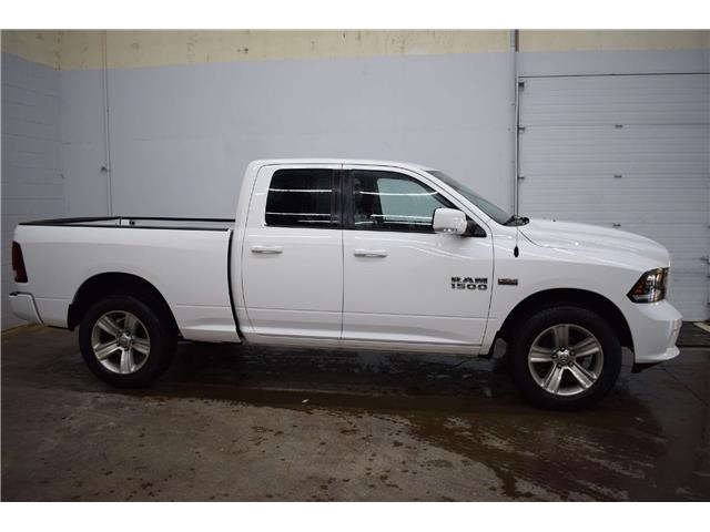 2016 RAM 1500 SPORT 4X4 - LTHR * HTD & VENTED SEATS * HITCH RCVR (Stk: B4238) in Kingston - Image 1 of 26