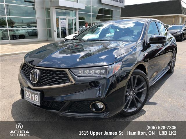 2018 Acura TLX Tech A-Spec (Stk: 1814760) in Hamilton - Image 1 of 26