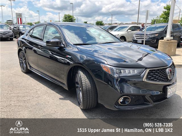 2018 Acura TLX Tech A-Spec (Stk: 1814760) in Hamilton - Image 2 of 26