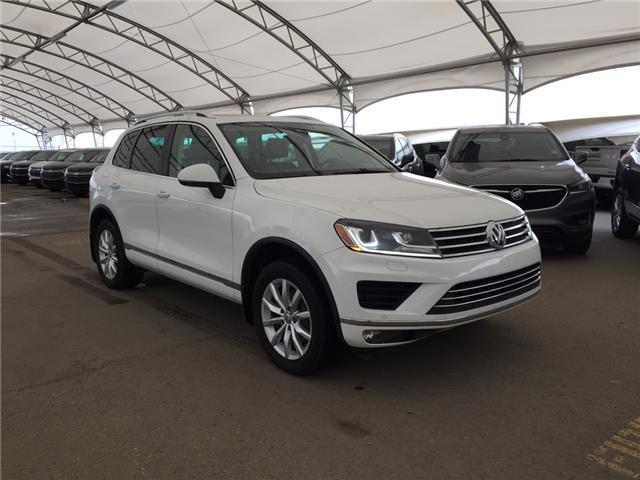 2015 Volkswagen Touareg 3.0 TDI Sportline (Stk: 175952) in AIRDRIE - Image 1 of 27