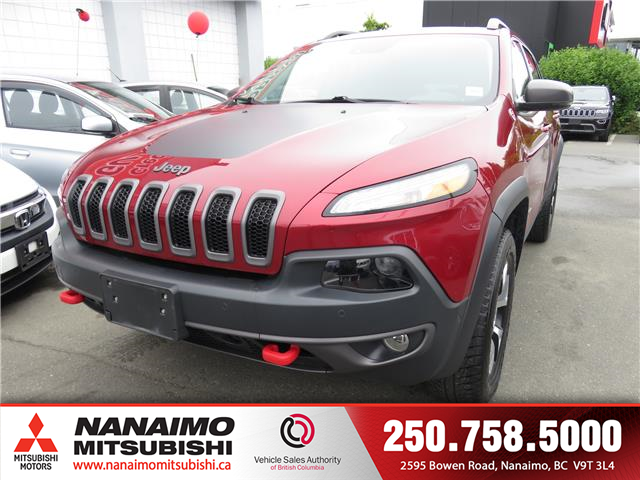 2016 Jeep Cherokee Trailhawk (Stk: 8P5285A) in Nanaimo - Image 1 of 10