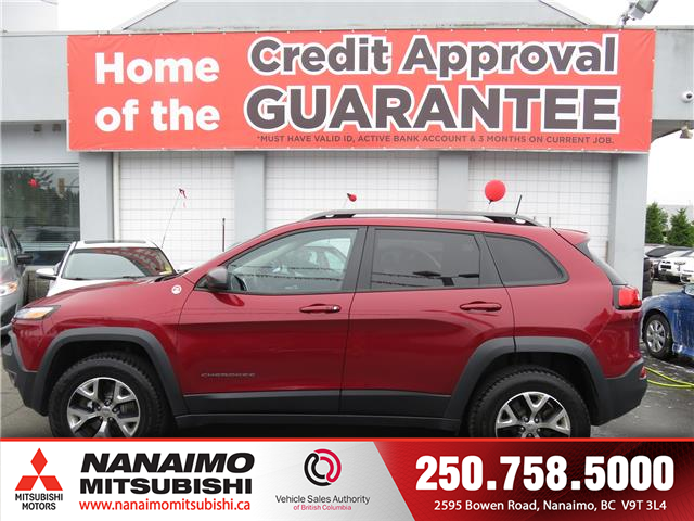 2016 Jeep Cherokee Trailhawk (Stk: 8P5285A) in Nanaimo - Image 2 of 10