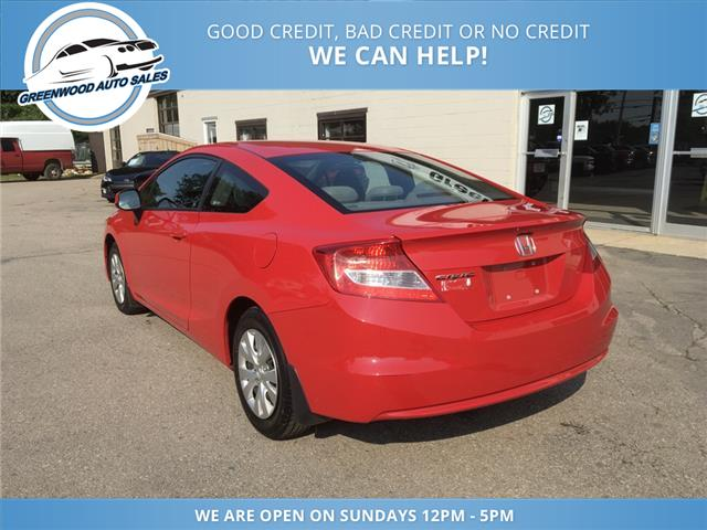 2012 Honda Civic LX (Stk: 12-11151) in Greenwood - Image 9 of 17