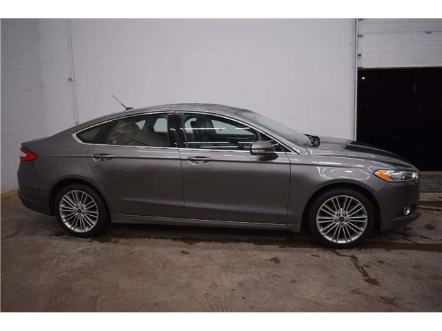 2014 Ford Fusion SE AWD - LTHR * SUNROOF * NAV * HTD SEATS  (Stk: B4298) in Napanee - Image 1 of 30