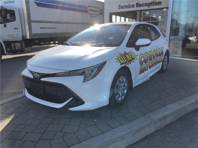 2019 Toyota Corolla Hatchback Base (Stk: 30164) in Aurora - Image 1 of 3