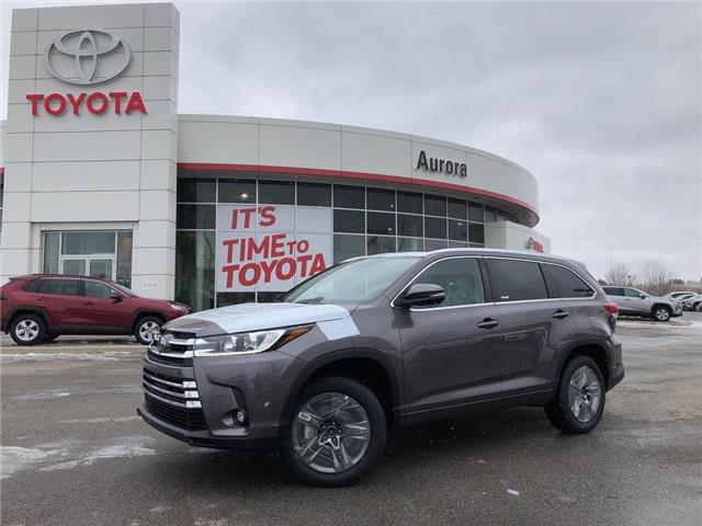 2019 Toyota Highlander Limited (Stk: 30742) in Aurora - Image 1 of 16
