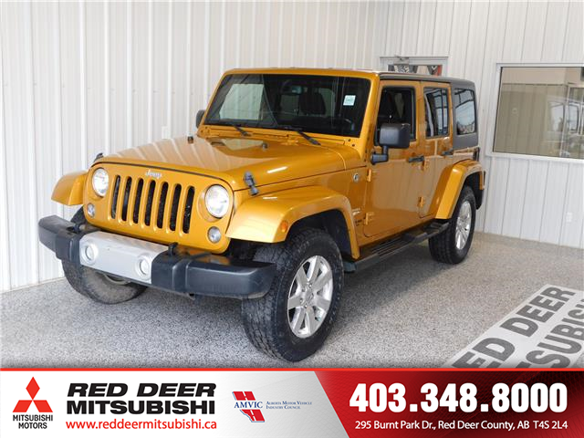 2014 Jeep Wrangler Unlimited 24G (Stk: L8115B) in Red Deer County - Image 1 of 15