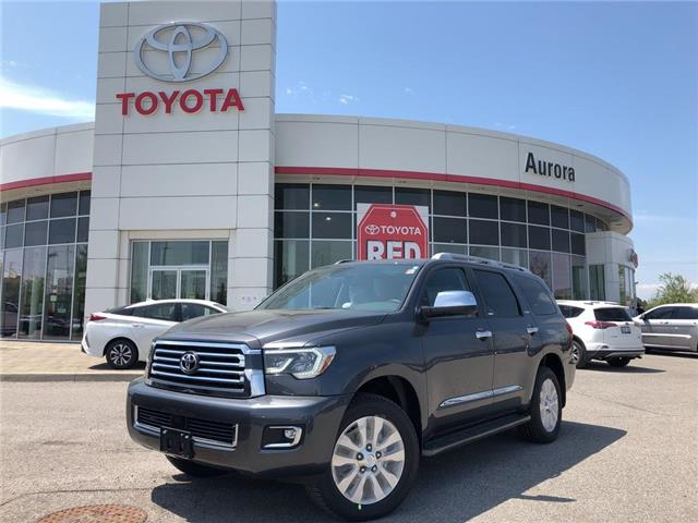 2019 Toyota Sequoia Platinum 5.7L V8 (Stk: 30932) in Aurora - Image 1 of 15