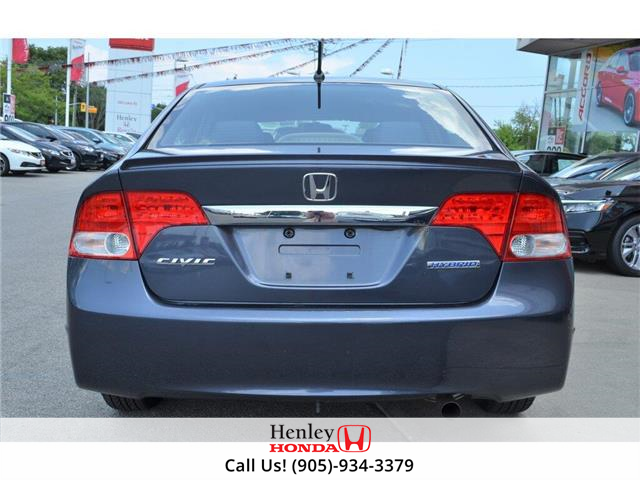 2009 Honda Civic Hybrid  (Stk: R9456A) in St. Catharines - Image 6 of 18