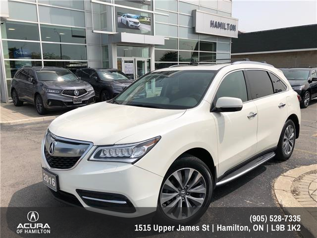 2016 Acura MDX Navigation Package (Stk: 1613107) in Hamilton - Image 1 of 24