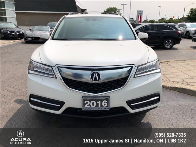 2016 Acura MDX Navigation Package (Stk: 1613107) in Hamilton - Image 2 of 24