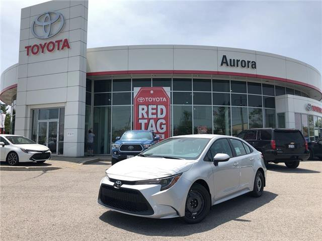 2020 Toyota Corolla LE (Stk: 31075) in Aurora - Image 1 of 15