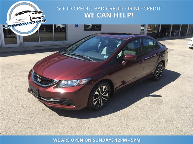 2015 Honda Civic EX (Stk: 15-50129) in Greenwood - Image 2 of 21