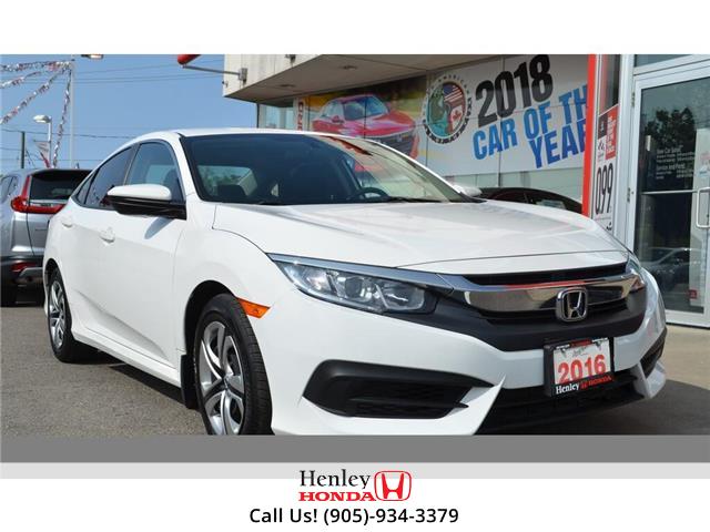 2016 Honda Civic  (Stk: R9490) in St. Catharines - Image 1 of 22