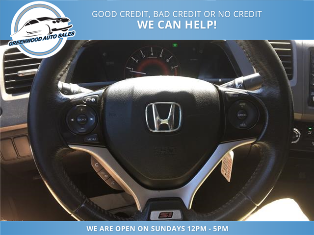 2012 Honda Civic Si (Stk: 12-01661) in Greenwood - Image 13 of 20