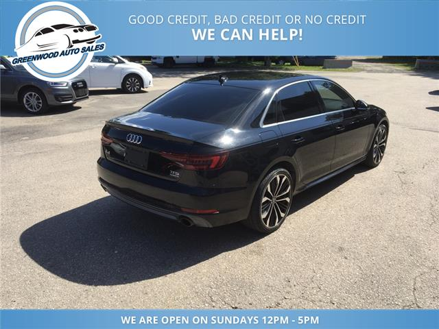 2018 Audi A4 2.0T Komfort (Stk: 18-00535) in Greenwood - Image 6 of 20