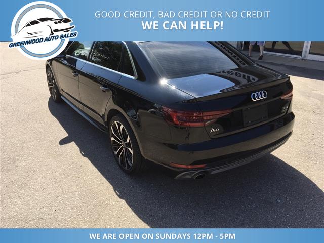 2018 Audi A4 2.0T Komfort (Stk: 18-00535) in Greenwood - Image 8 of 20