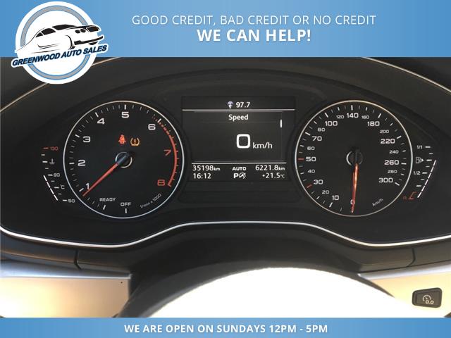 2018 Audi A4 2.0T Komfort (Stk: 18-00535) in Greenwood - Image 10 of 20
