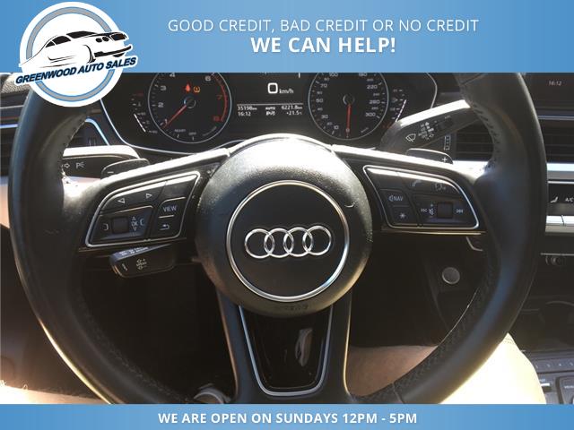 2018 Audi A4 2.0T Komfort (Stk: 18-00535) in Greenwood - Image 11 of 20