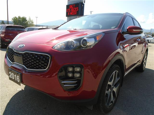 2017 Kia Sportage SX Turbo (Stk: 2T2027A) in Cranbrook - Image 1 of 22