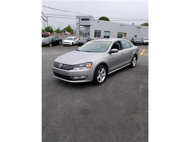 2013 Volkswagen Passat 2.0L TDI SE w/Sunroof & Nav (Stk: p19-167) in Dartmouth - Image 1 of 11