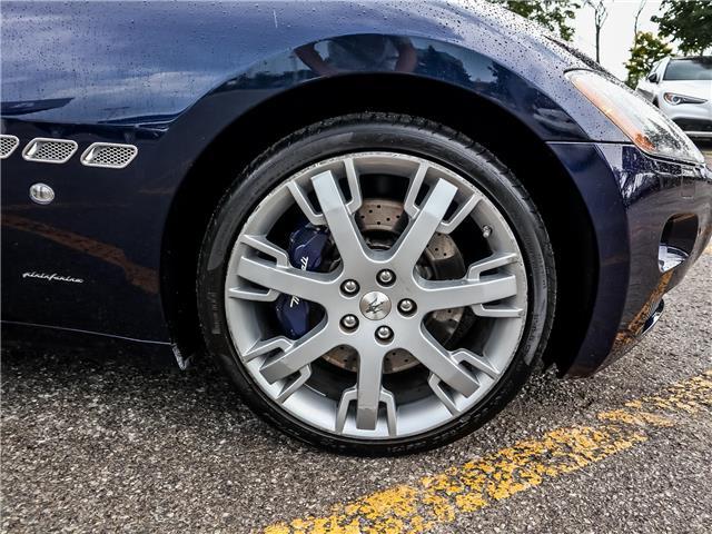 2012 Maserati GranTurismo Base (Stk: U408) in Oakville - Image 16 of 18