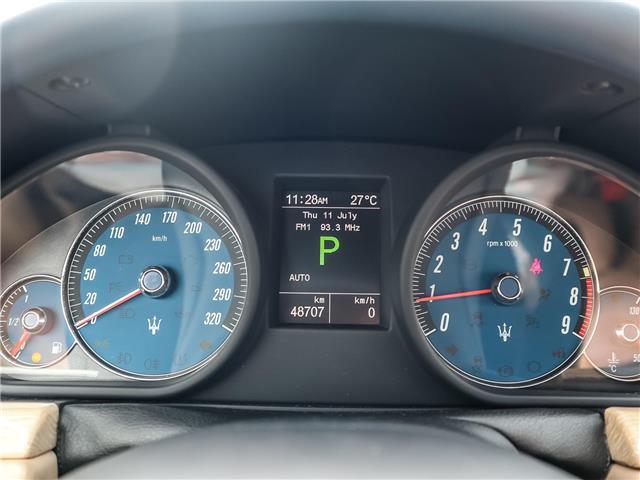 2012 Maserati GranTurismo Base (Stk: U408) in Oakville - Image 17 of 18