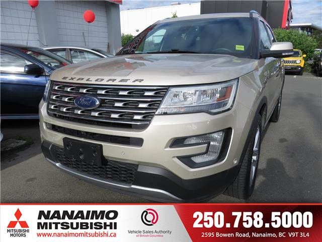 2017 Ford Explorer Limited (Stk: 8P7153A) in Nanaimo - Image 1 of 12