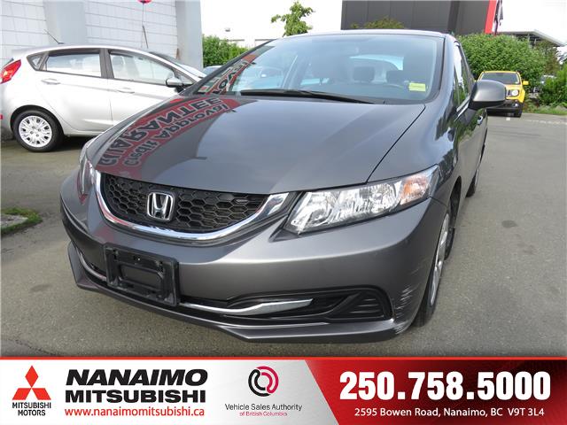 2013 Honda Civic LX (Stk: 8T1110C) in Nanaimo - Image 1 of 20