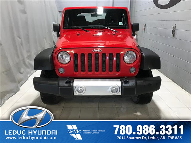 2014 Jeep Wrangler Sport (Stk: 9TC6342A) in Leduc - Image 1 of 7