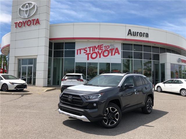 2019 Toyota RAV4 Trail (Stk: 31104) in Aurora - Image 1 of 15