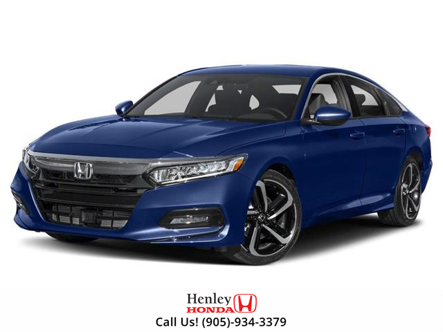 2019 Honda Accord Sport 1.5T (Stk: H18355) in St. Catharines - Image 1 of 9