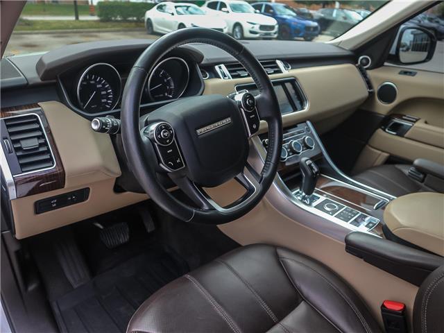 2015 Land Rover Range Rover Sport V6 SE (Stk: U412) in Oakville - Image 10 of 30