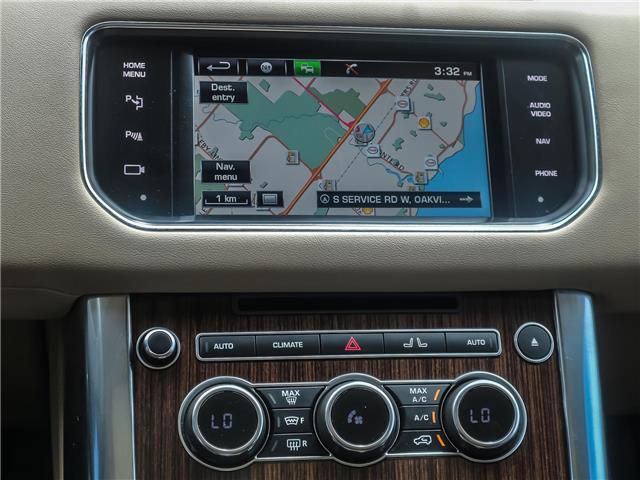2015 Land Rover Range Rover Sport V6 SE (Stk: U412) in Oakville - Image 17 of 30