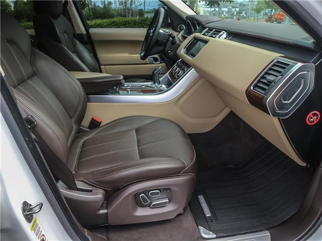 2015 Land Rover Range Rover Sport V6 SE (Stk: U412) in Oakville - Image 19 of 30