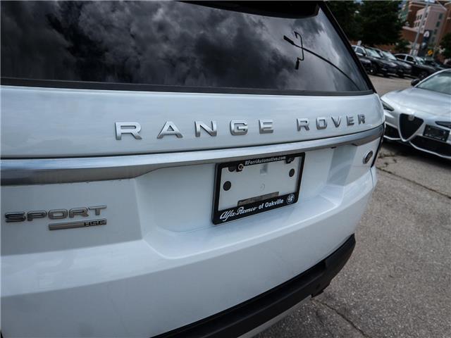 2015 Land Rover Range Rover Sport V6 SE (Stk: U412) in Oakville - Image 26 of 30