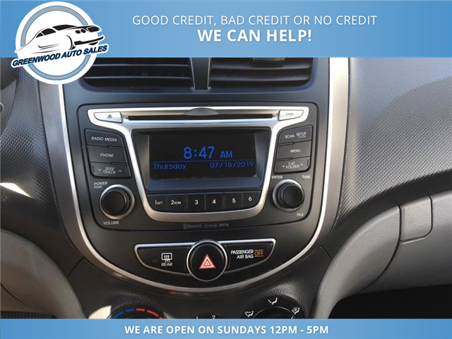 2016 Hyundai Accent GL (Stk: 16-54001) in Greenwood - Image 13 of 17