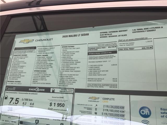 2020 Chevrolet Malibu LT (Stk: 177132) in AIRDRIE - Image 24 of 24